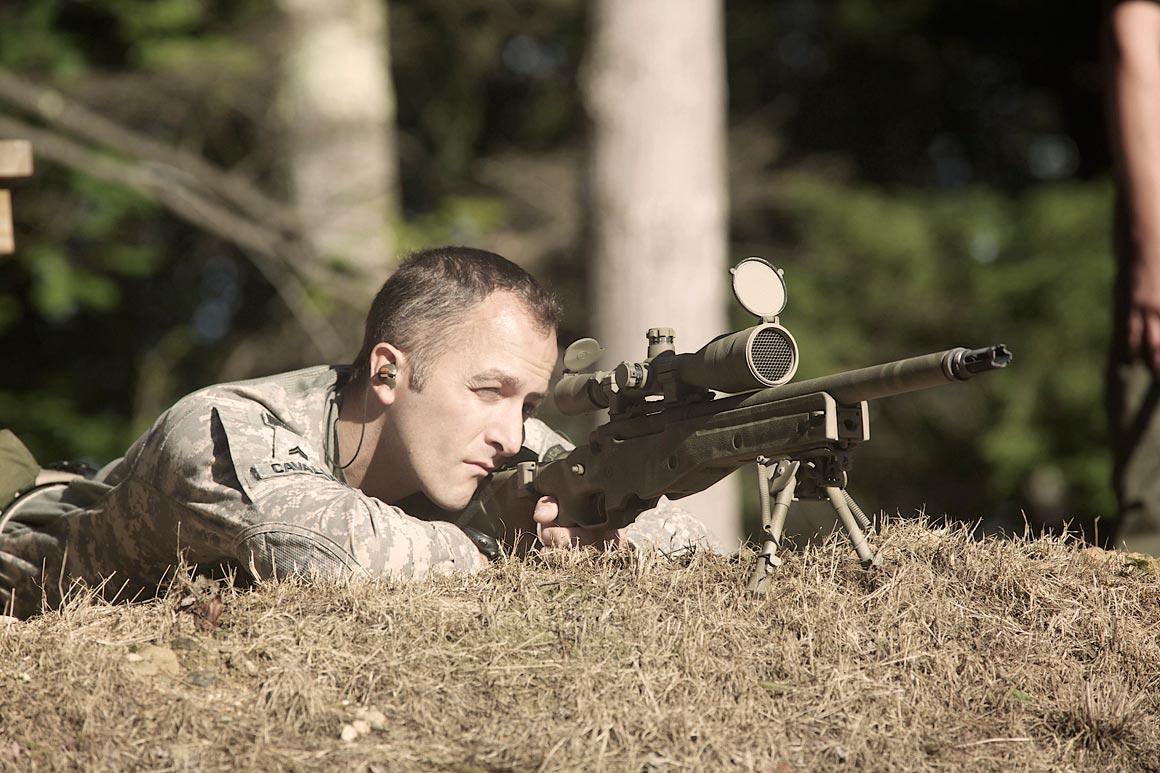 1 000 Yard Outdoor Shooting Range Long Distance Rifle
